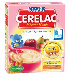 Nestle Cerelac Cereal Strawberry Apple Pear (175gm)