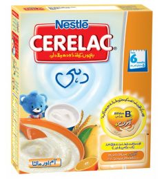 Nestle Cerelac Yogurt, Mango & Orange (175g)