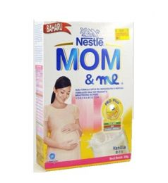 Nestle Mom & Me Milk Powder Vanilla (350gm)