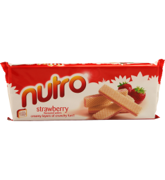 Nutro Strawberry Wafer Biscuits (175gm)