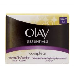 Olay Essentials Complete Night Cream Normal, Dry And Combo Skin (50ml)