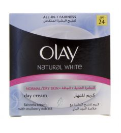 Olay Natural White Normal And Dry Skin Day Cream Spf 24 (100gm)