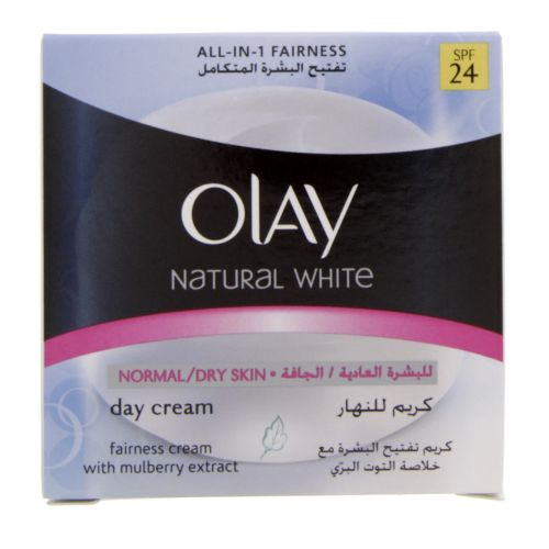 Olay Natural White Normal And Dry Skin Day Cream Spf 24
