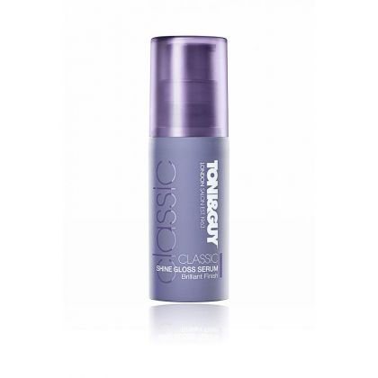 Toni & Guy Classic Shine Gloss Serum For Brilliant Finish