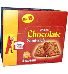Peek Freans Chocolate Sandwich Biscuit (6 Packs)