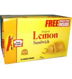 Peek Freans Lemon Sandwich Biscuit