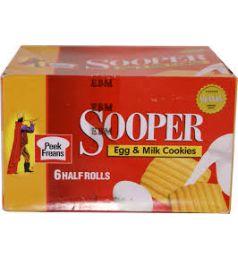 Peek Freans Sooper (6 Half Roll Box)