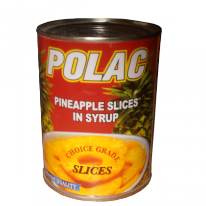 Polac Pineapple Slices (565gm)