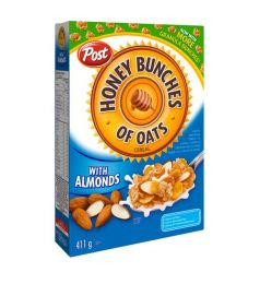 Post Cereal Honey Bunches Of Oats With Crispy Almond (411gm)