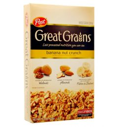 Post Great Grains - Banana Nut Crunch (439gm)