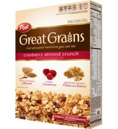 Post Great Grains Cranberry Almond Crunch Cereal (400gm)