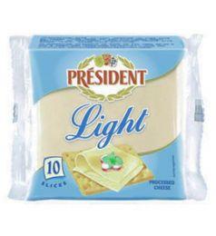 President Cheese Slice Light