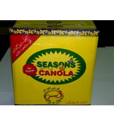 Seasons Canola Oil (1Ltr X 5)
