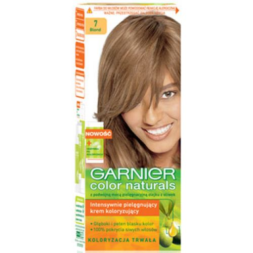 Garnier Color Naturals No 7 Blonde Hair Color Amp Dye