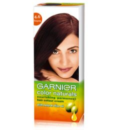 Garnier Color Naturals No. 4.6 (burgundy Red)