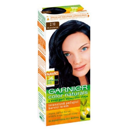 garnier color naturals no 21 blue black hair color