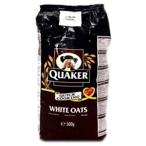 quaker-white-oats-pouch-500gm-      Quaker Oatmeal Bag