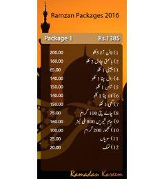 Ramazan Relief Package 1