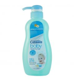 Cussons Baby Head To Toe Wash 400ml