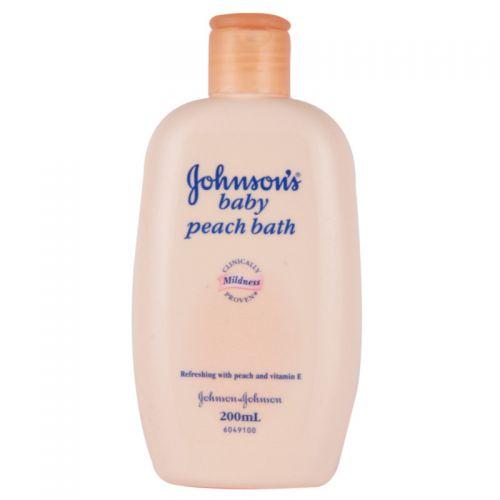 Johnson S Baby Peach Bath 200ml Shampoo Lotion Soap