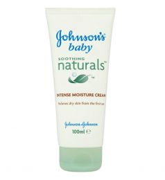 Johnsons Baby Soothing Naturals Intense Moisture Cream 100ml