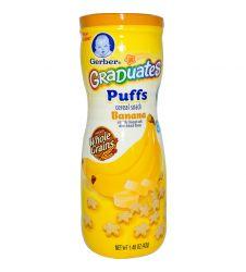 Gerber Graduates Puffs Cereal Snack Banana 42g