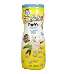 Gerber Graduates Puffs Cereal Snack Vanilla 42g
