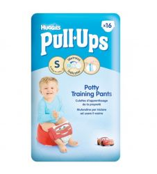 Huggies Pull-Ups Potty Training Pants - Small - Size 4 For Boys