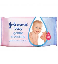 Johnson's Baby Gentle Cleansing Wipes 56 Pcs