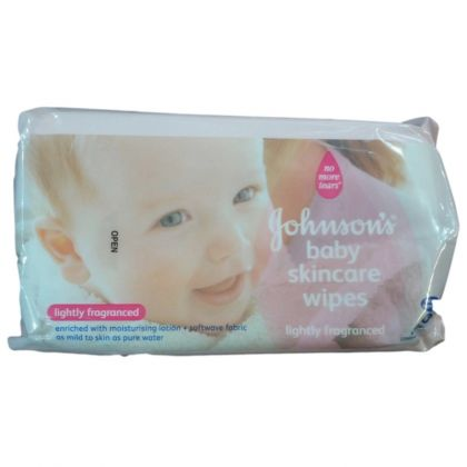Johnson s Baby Wipes 80 Pcs