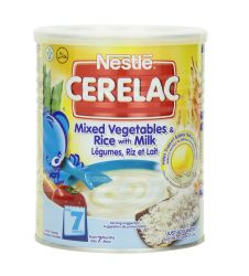 Nestle Cerelac Mixed Vegetables and Rice with Milk 400g