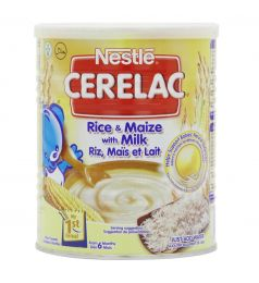 Nestle Cerelac Rice and Maize with Milk 400g