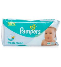 Pampers Fresh Clean 64 Pcs Baby Wipes