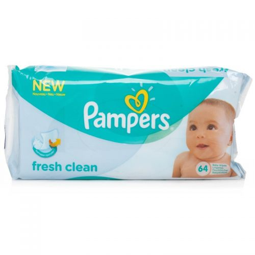 Pampers Fresh Clean 64 Pcs Baby Wipes Wipes Gomart Pk