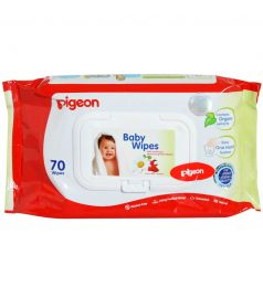Pigeon Baby Wipes 70 Pcs Flip Top