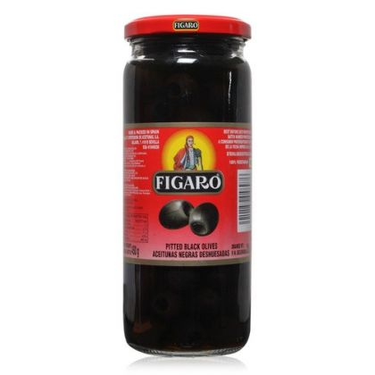 Figaro Pitted Black Olives (240gm)