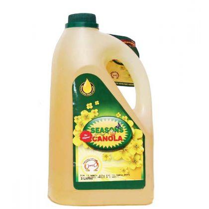 Seasons Canola Bottle (3Ltr)