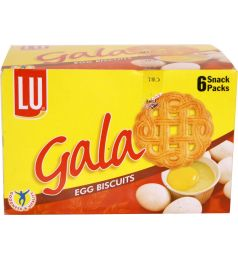 Lu Gala Egg Biscuits (6 Half Roll Box)