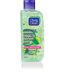 Clean & Clear Fruit Essentials Facial Cleanser Purifying Apple 100ml