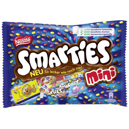 Nestle Smarties Mini (201gm) - Chocolates & Sweets | Gomart.pk Smarties Mini