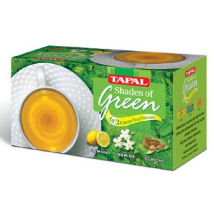 Tapal Green Tea - 30 Tea Bags 4 Flavour