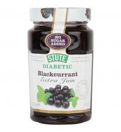 Stute Diabetic Blackcurrant Extra  Jam (430gm)