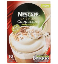Nestle Nescafe Cappuccino Unsweetened (10s)