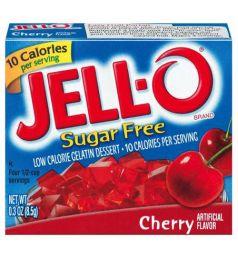Kraft Jello Cherry Sugar Free