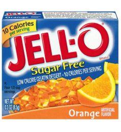 Kraft Jello Orange Sugar Free