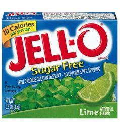 Kraft Jello Sugar Free Lime