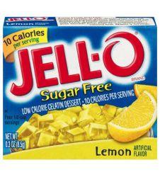 Kraft Jello Lemon Sugar Free