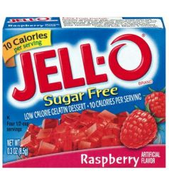 Kraft Jello Sugar Free Rasberry