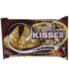 Hershey's Kisses Milk Choclate With Almond (311gm)