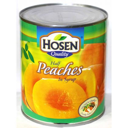 Hosen Half Peaches (825gm)